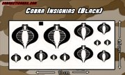 Cobra Command Insignia variety pack (black)