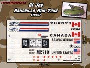 Armadillo Mini-Tank (1985 - GI Joe)